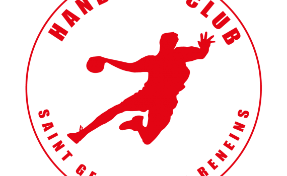 Logo du handball club de saint georges de reneins